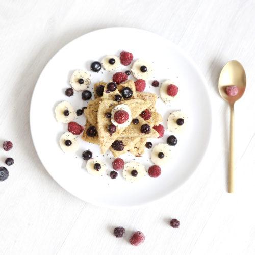 petit déjeuner healthy, gourmand et coloré