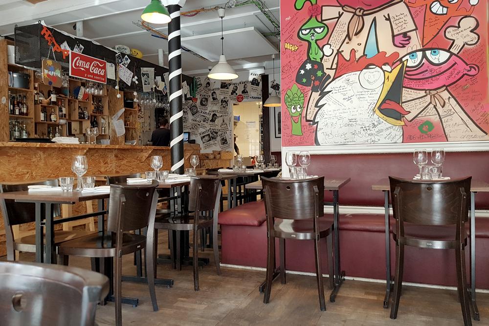Restaurant Plantxa à Boulogne billancourt