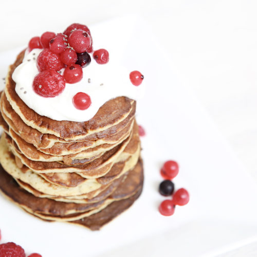 Pancakes healthy et gourmand